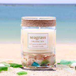沖縄の海と月の神秘パワー:SEAGRASSシーグラスキャンドル