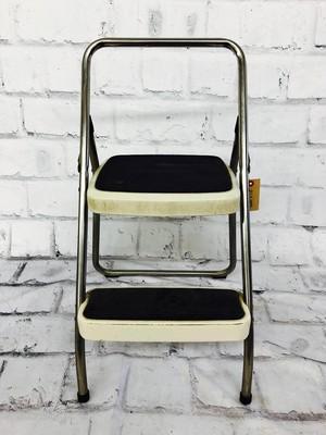 品番3427 ステップチェア インダストリアル COSCO モノトーン 椅子 インテリア ディスプレイ アンティーク
