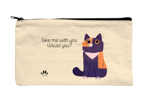 Take me with you, would you?
