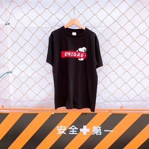 ボックスCHIGAUロゴTシャツ