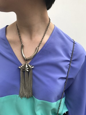 【Necklace】Vintage silver necklace