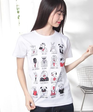 #748 Tシャツ WICKED ANIMALS