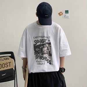 ロックバンドプリントTシャツ BL8202