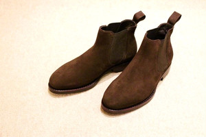 Jalan Sriwijaya CADETTO Exclusive Side Gore Boots Dark Brown