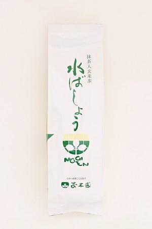 玄米茶「水ばしょう」200g袋入