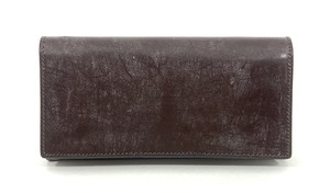 RE.ACT Bridle Leather Long Wallet Burgundy