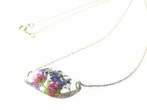 山野草 森の花のペンダント(ミゾソバ・ヤマハッカ)・14kgf
