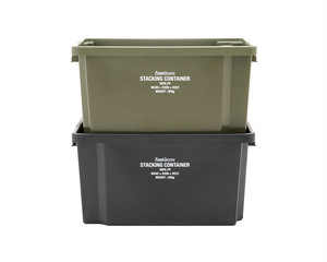 Fresh Service / STACKING CONTAINER[KHAKI/BLACK]