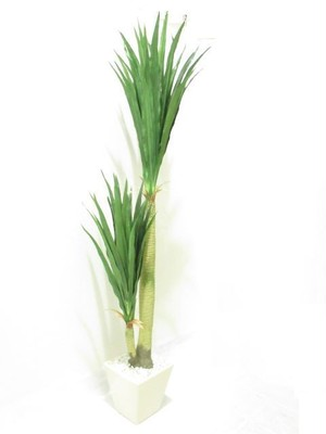 【ドラセナ】フェイクグリーン ポット 光触媒人工観葉植物  プランター 鉢