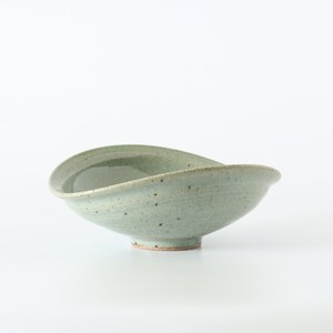 カレー皿 灰釉