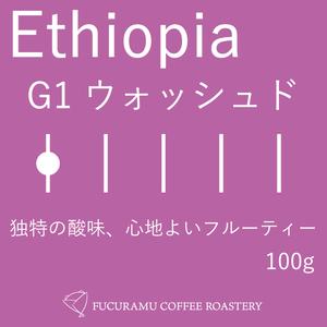 エチオピア イルガチェフェG1ウォッシュド【ミディアムロースト】100g