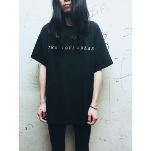 """THE NOVEMBERS"" Cut-sew (Black / MERZ-161)"
