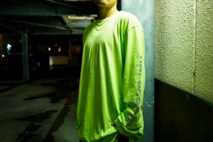 RAPSPORTS EQT Super Reflector LONG-T (LimeGreen)