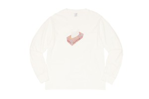 WHIMSY / PAPER L/S TEE -WHITE-