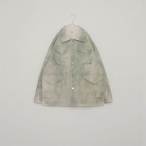 """ISSUETHINGS """"01""""(NATURAL WHITE GREEN DYING)"""