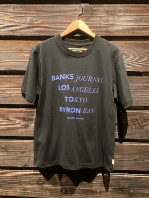 Banks Journal  LOCATOR  D.Black  Mサイズ ATS0618