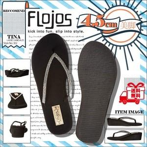 302TINA フロホース 厚底サンダル レディース 女子 大人気 ブランド 美脚 かわいい 履きやすい 黒 ウエッジソール ビーチサンダル FLOJOS