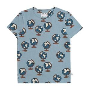 【21SS】カーラインク(CARLIJNQ)Globe Tshirt Tシャツ 地球儀