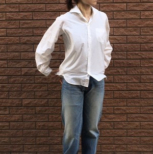 MBL WIDESPREAD SHIRTS chapter Ⅰ for WOMEN オーガニックコットン100%