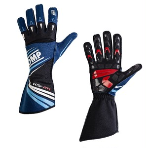 KK02747242  KS-2R Gloves (Navy blue/white/cyan)