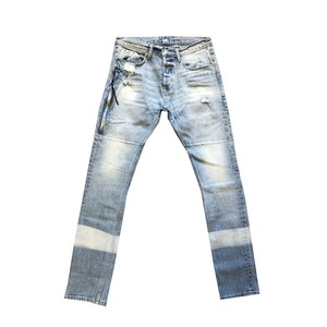 MR.COMPLETELY BLEACHED DENIM