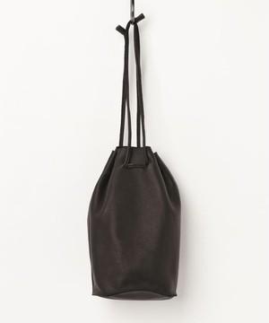 【ESPERANTO】 カウレザー 巾着バッグ (3色展開)