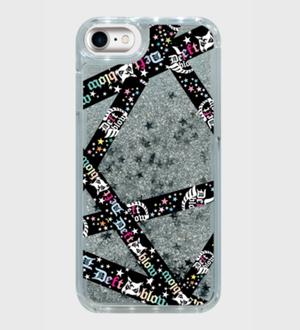 iPhone8ケース スターグリッター