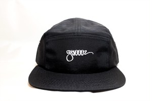 GX1000 ONE LINER 5 PANEL CAP BLACK