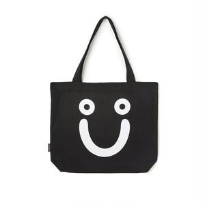 POLAR SKATE CO / HAPPY SAD TOTE BAG -BLACK-