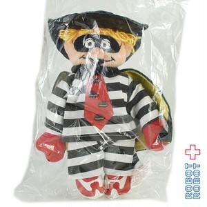 マクドナルド ハンバーグラー ぬいぐるみ人形 1996 袋入