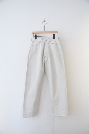 RESTOCK【ORDINARY FITS】OF-P034OW NEW FARMERS 5P DENIM WHITE