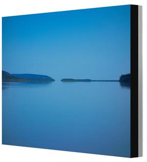 全紙写真パネル アラスカ・ユーコン川 Leo R. Yamada撮影 木製パネル張り 20160817125920