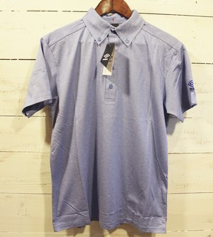 umbro Locker Room Limited Button Down S/S Polo BLUE