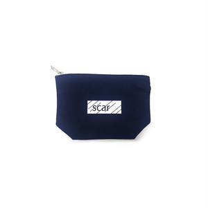 scar /////// BLACKBOX DAILY POUCH (Small) (Navy)