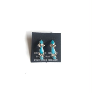 turquoise earring -drop-