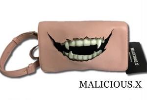 vampire shoulder bag / pink