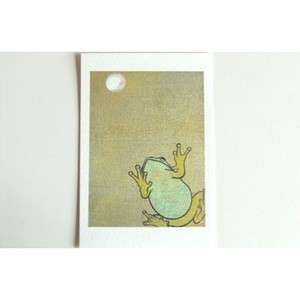月蛙 ポストカード 『月の夜』 10001