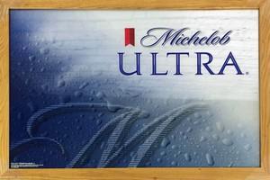品番0606 パブミラー 『Michelob ULTRA(ミケロブ ウルトラ)』 壁掛 アート ディスプレイ アメリカン雑貨 ヴィンテージ