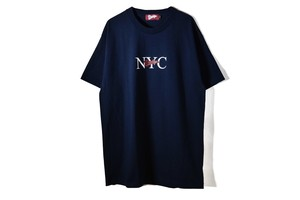 NYC LOGO T-SHIRT - Navy