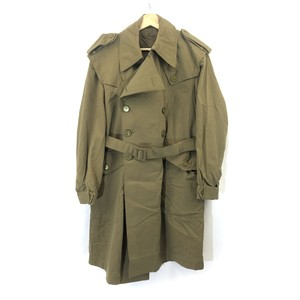 80s【Spanish Army】TRENCH COAT