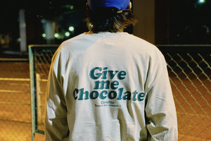 Give me Chocolate  L/S Tee【Black / Sand / Military green】