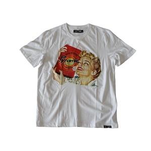 Black Pyramid Vintage Ad Fresh Clean Tee ブラックピラミッド Tシャツ 白 DJ0731TWV