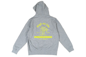 【high on life hoodie】 / heather gray