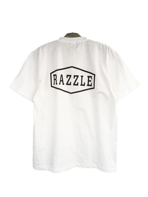 RAZZLE / EMBLEM SS TEE / WHITE
