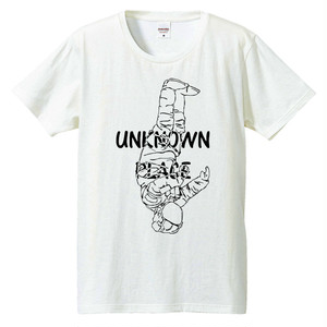 [Tシャツ] Unknown place (ブラック&クローム)