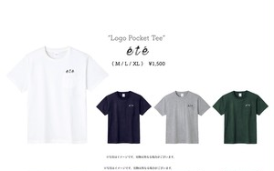 """Logo Pocket Tee"""