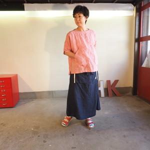 サマーリネンシャンブレー  BIGポケットTシャツ 12S26 サイズ2
