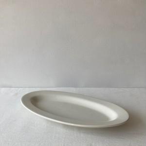 R.B.B.C / oval plate 26cm / クリーム