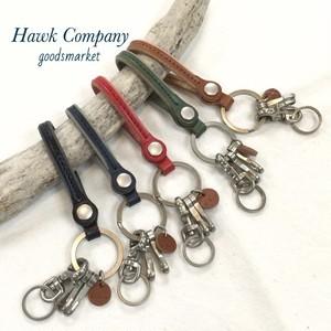 6241 レザーキーホルダー Hawk Company(ホークカンパニー)