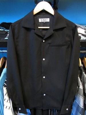 L/Sシャツ ブラック